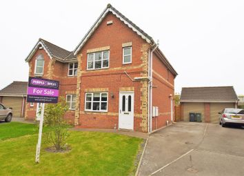 Thumbnail 3 bed semi-detached house for sale in Cannon Hall Lane, Eggborough, Goole