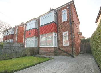 Thumbnail 3 bedroom semi-detached house for sale in Fallodon Gardens, Fenham, Newcastle Upon Tyne