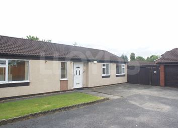 Thumbnail 3 bed detached bungalow to rent in Gairloch Close, Cinnamon Brow, Warrington