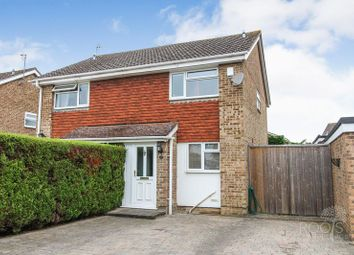 Thumbnail 2 bed semi-detached house for sale in Humber Close, Thatcham