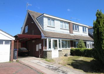 Thumbnail 3 bed semi-detached house to rent in Minerva Close, Knypersley, Stoke-On-Trent