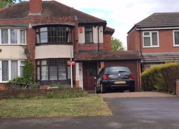 Thumbnail 4 bed semi-detached house to rent in Cliveden Avenue, Perry Barr, Birmingham
