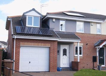 Thumbnail 3 bed semi-detached house to rent in Stagshaw, Killingworth, Newcastle Upon Tyne