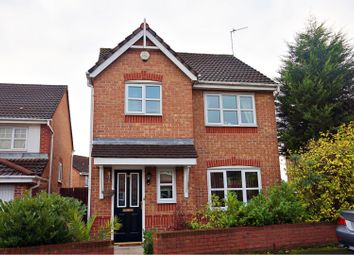 Thumbnail 3 bed detached house for sale in Brakenlea Drive, Manchester
