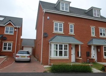 Thumbnail 4 bedroom semi-detached house for sale in Weddell Court, Thornaby, Stockton-On-Tees