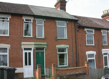 Thumbnail 3 bed terraced house for sale in 22 Hayhill Road, Ipswich, Suffolk