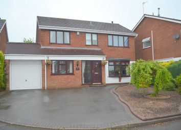 Thumbnail 4 bed detached house for sale in Larch Grove, Sedgley