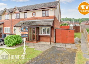 Thumbnail 2 bedroom end terrace house for sale in Lon Goed, Holywell