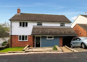 Thumbnail 4 bed detached house for sale in Bunting Close, Ogwell, Newton Abbot