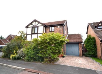 Thumbnail 3 bed detached house for sale in Hallworthy Close, Leigh