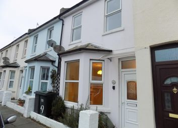 Thumbnail 2 bed flat to rent in Leslie Street, Eastbourne