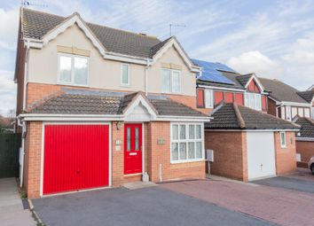 Thumbnail 4 bed detached house for sale in Merefields, Irthlingborough, Wellingborough