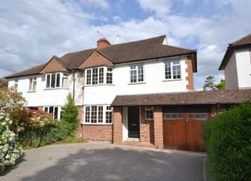 Thumbnail 4 bed semi-detached house for sale in Westcar Lane, Walton-On-Thames