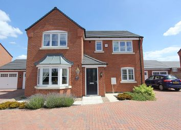 Thumbnail 4 bed detached house for sale in Simpson Road, Stoney Stanton, Leicester, Leicestershire