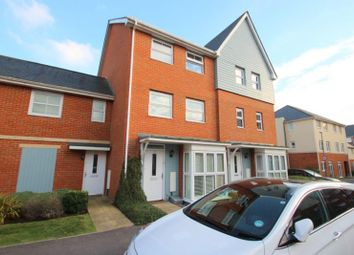 Thumbnail 4 bed town house to rent in Burrage Road, Redhill