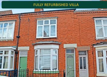 Thumbnail 3 bedroom terraced house for sale in Lytton Road, Clarendon Park, Leicester
