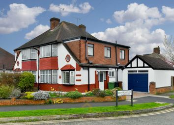 Thumbnail 4 bed semi-detached house to rent in Seaforth Gardens, Stoneleigh, Epsom