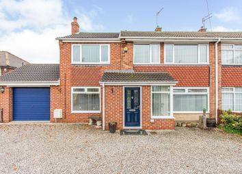 Thumbnail 4 bed semi-detached house for sale in Gullane Drive, Warmsworth, Doncaster
