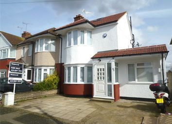 Thumbnail 4 bed end terrace house for sale in Beverley Road, Ruislip