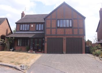 Thumbnail 5 bed detached house for sale in Beech Road, Hollywood, Birmingham