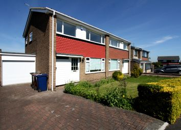 Thumbnail 3 bed semi-detached house to rent in Grosvenor Way, Chapel Park, Newcastle Upon Tyne