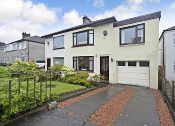 Thumbnail 4 bed semi-detached house for sale in Newtyle Road, Paisley, Renfrewshire