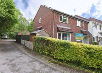 Thumbnail 2 bed end terrace house for sale in Sandford Close, Kingsclere, Newbury