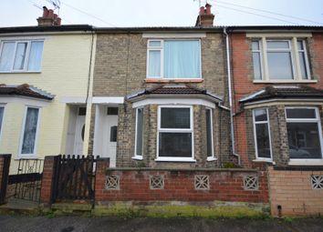 Thumbnail 3 bedroom terraced house for sale in John Street, Lowestoft