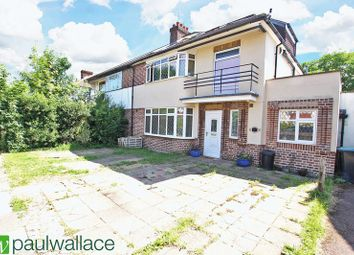 Thumbnail 4 bed semi-detached house for sale in Chalkwell Park Avenue, Enfield