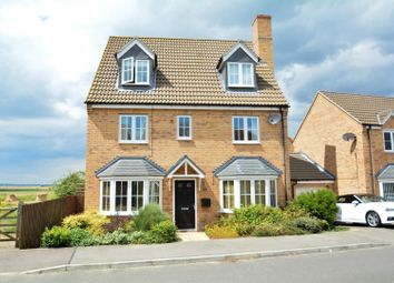 Thumbnail 5 bedroom detached house for sale in Fairbairn Way, Chatteris