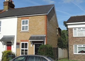 Thumbnail 2 bed end terrace house to rent in Thames Street, Weybridge