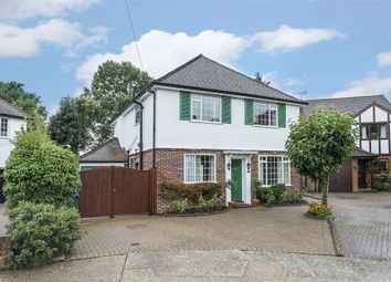 Thumbnail 4 bed detached house for sale in Ford Close, Ashford, Middlesex