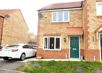Thumbnail 2 bed semi-detached house for sale in Far Moor Close, Goldthorpe