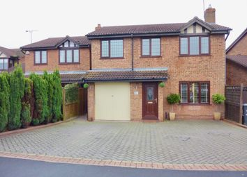 Thumbnail 4 bed detached house for sale in Kurtus, Dosthill, Tamworth