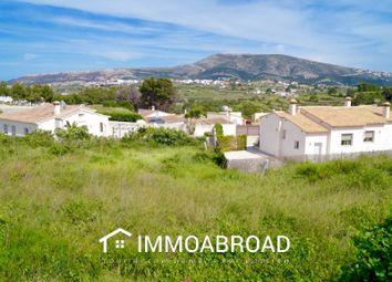 Thumbnail Land for sale in Benitachell / El Poble Nou De Benitatxell, 03726, Alicante, Spain