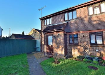 Thumbnail 1 bedroom end terrace house for sale in Highfields Close, Dunstable