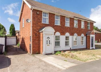 Thumbnail 3 bed semi-detached house to rent in Abbotts Close, Syston, Leicester, Leicestershire