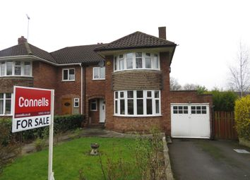 Thumbnail 3 bedroom semi-detached house for sale in Somerset Road, Walsall