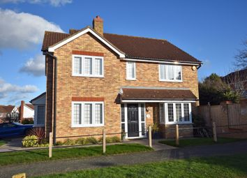Thumbnail 4 bed detached house for sale in Hintlesham Close, Rushmere St. Andrew, Ipswich