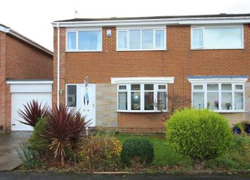 Thumbnail 3 bed semi-detached house for sale in Chillingham Court, Billingham
