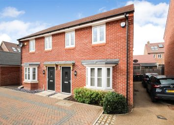 Thumbnail 3 bed semi-detached house for sale in West Hill Close, Great Denham, Bedfordshire