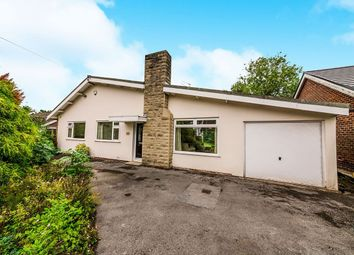 Thumbnail 3 bed bungalow for sale in Ridgmont Road, Bramhall, Stockport