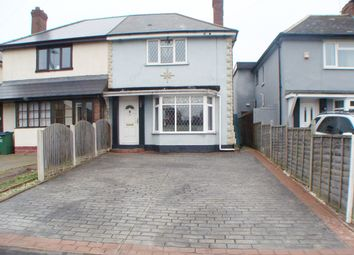 Thumbnail 2 bedroom semi-detached house for sale in Rydding Lane, West Bromwich