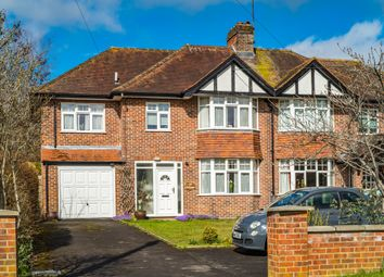 Thumbnail 5 bed semi-detached house for sale in Gethrange, Goring On Thames