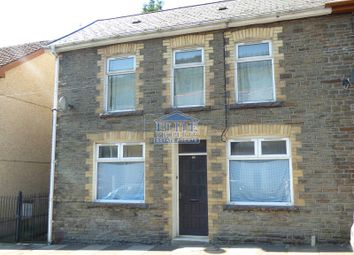 Thumbnail 2 bed end terrace house for sale in Walters Road, Ogmore Vale, Bridgend.