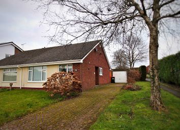 Thumbnail 2 bed semi-detached bungalow for sale in Ruskin Avenue, Rogerstone, Newport