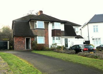 Thumbnail 3 bed semi-detached house for sale in Greenway Gardens, Croydon