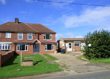 Thumbnail 3 bed semi-detached house for sale in Swineshead Road, Riseley