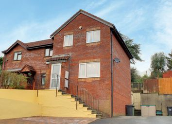 Thumbnail 3 bedroom semi-detached house for sale in Lane End Park, Barnstaple