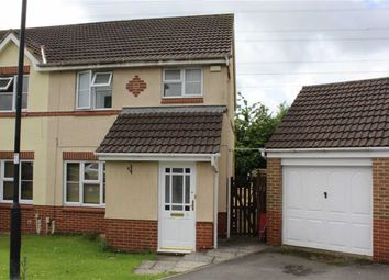 Thumbnail 3 bed semi-detached house to rent in Stewart Close, Swindon